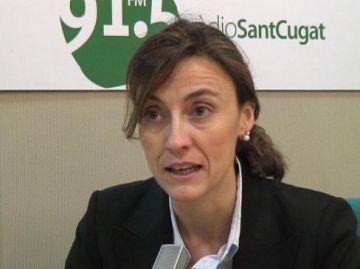 Mercè Conesa: 'És absurd dir que l'Ajuntament vol col·lapsar Valldoreix'