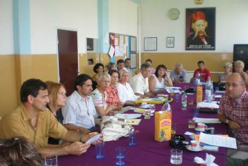 Mestres catalans viatgen a Bòsnia per intercanviar experiències docents