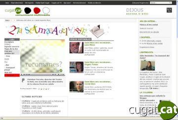 Cugat.cat, mitjà de referència de la Setmana del Llibre en Català