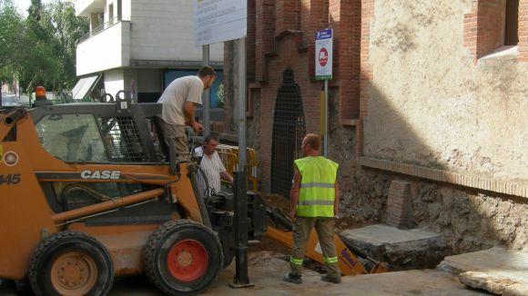 Tallats els carrers de Sant Medir i Camí de la Creu fins dimarts vinent