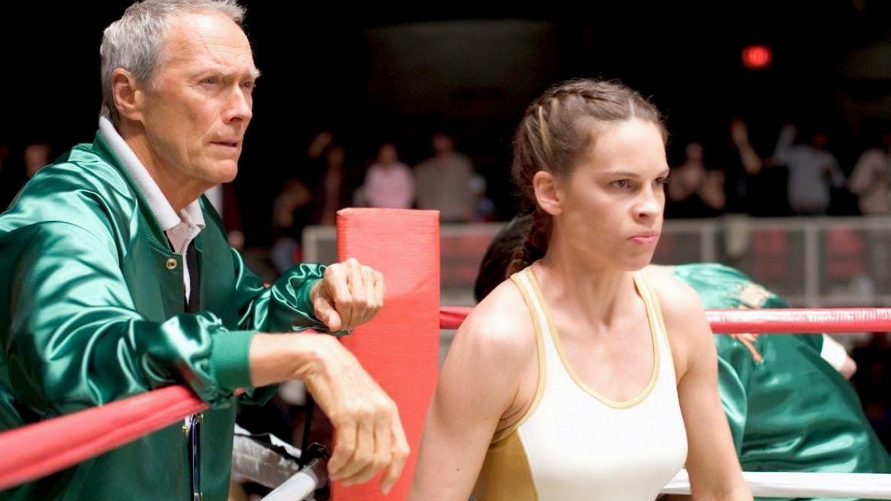 Moment de la pel·lícula 'Million dollar baby'