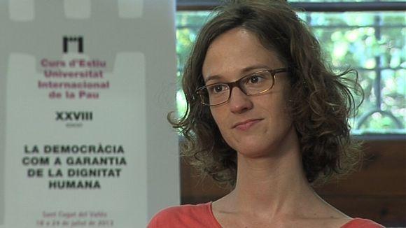 Cristina Cullell (investigadora): 'L'accés a la xarxa ha de ser un dret fonamental'