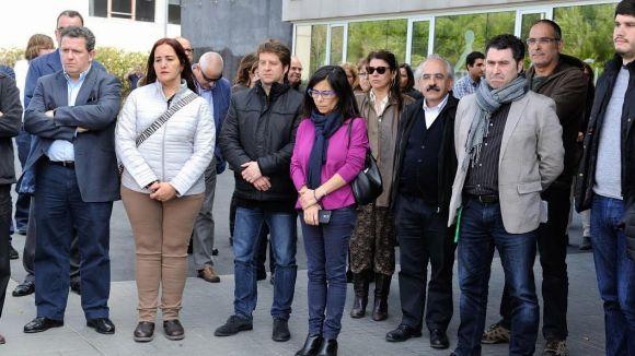 Sant Cugat i Valldoreix s'uneixen als minuts de silenci en record de les víctimes de Brussel·les