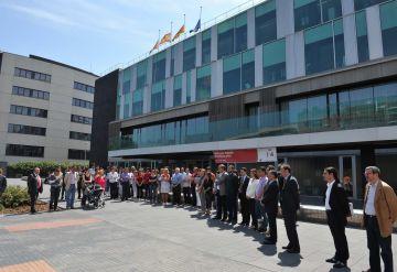 Sant Cugat expressa la seva solidaritat amb Llorca