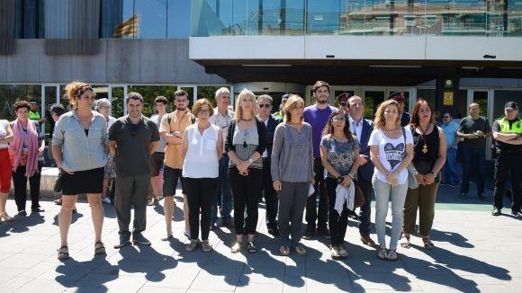 Sant Cugat fa un minut de silenci per condemnar l'atemptat de Niça