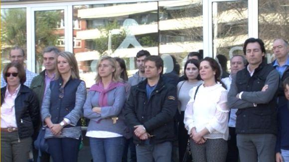 Sant Cugat commemora el Dia Europeu de les Víctimes del Terrorisme amb un minut de silenci