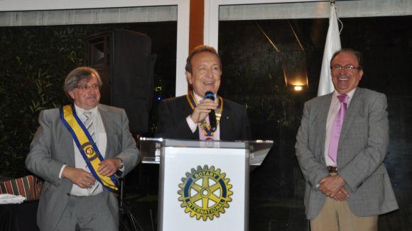 Miquel Villagrasa, nou president del Rotary, vol crear un club a Gandesa