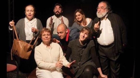 Detall del cartell del muntatge / Foto: Mira-sol Teatre