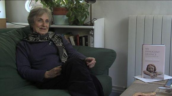 Miriam Frank en un moment de l'entrevista