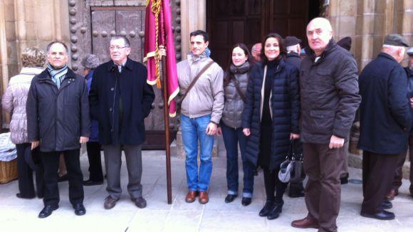 L'emblema de Sant Antoni ha presidit la celebració