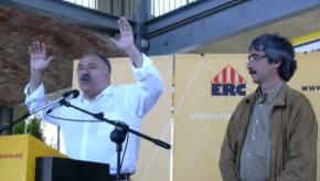 Es preveu que més de 500 persones s'acostin al PAVII per escoltar Carod-Rovira i Puigcercós.