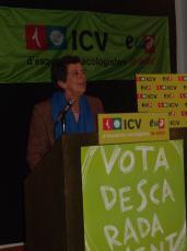 Lali Vintró ha estat diputada per ICV al Parlament.