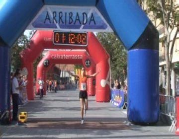 Garcia i Bajón, nous campions de la Mitja Marató de Sant Cugat