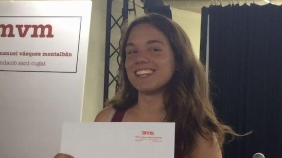 Marta Vila guanya el Premi de Recerca de Batxillerat del MMVM