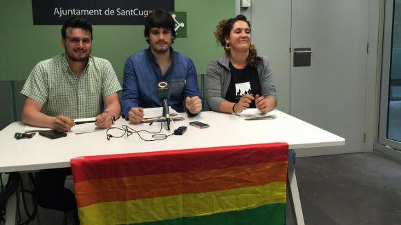 La CUP-PC, ERC-MES i ICV-EUiA presentaran al ple una moció per garantir els drets del col·lectiu LGTBI+ a Sant Cugat