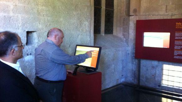 El Museu permet volar pel Sant Cugat dels segles XI i XV