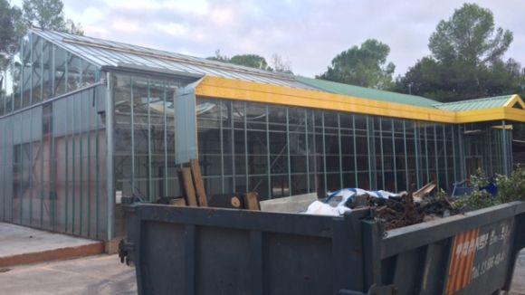 L'EMD instal·larà dos barracons a la zona del garden per ampliar l'espai de l'Escola de Música