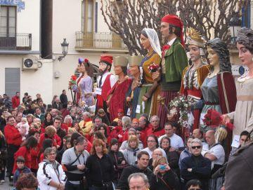 El gegantó Valentí participarà a les festes de Santa Eulàlia de Barcelona