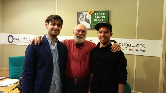El 'Molta Comèdia' parla amb el compositor Marc Migó i amb el 'beatboxer' Dani 'Pulmón' Lleonart