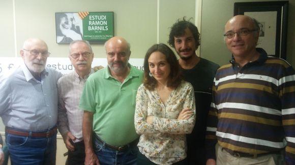 El 'Molta Comèdia' parla amb els protagonistes dels actes de commemoració del centenari del tren