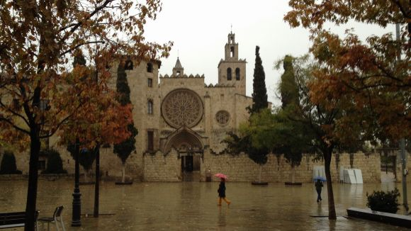 La pluja a Sant Cugat deixa 16,3 litres per metre quadrat