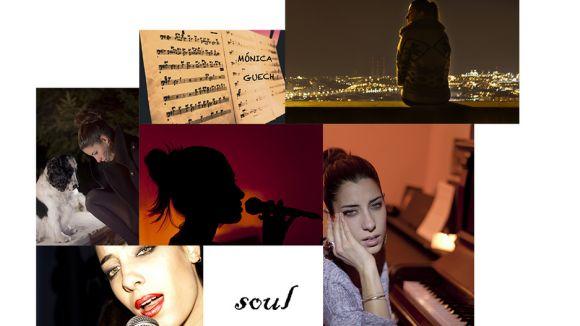 Recull d'imatges de la cantant / Foto: Web Mònica Guech