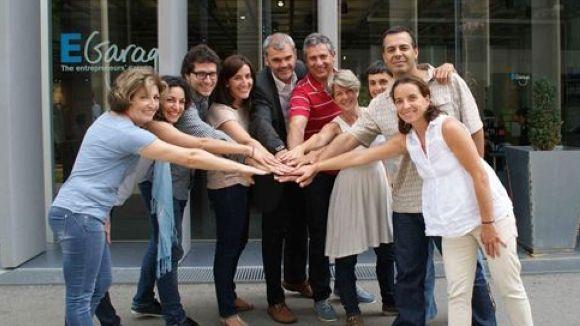 Els participants al programa a les instal·lacions d'EsadeCreapolis
