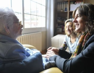 Aurora Monterroso celebra avui el seu 107 aniversari