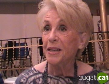 Montserrat Carulla: 'M'agrada venir a Sant Cugat perquè el públic sap escoltar'