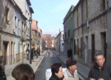 Satisfacció veïnal per la remodelació del carrer Montserrat