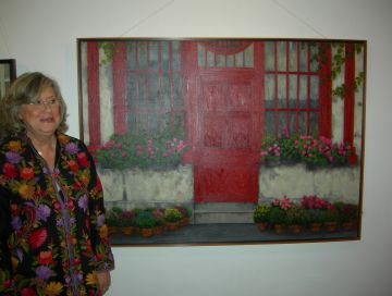'Recreant jardins i ciutats', la nova mostra de Montserrat Masdeu a la Sala Rusiñol