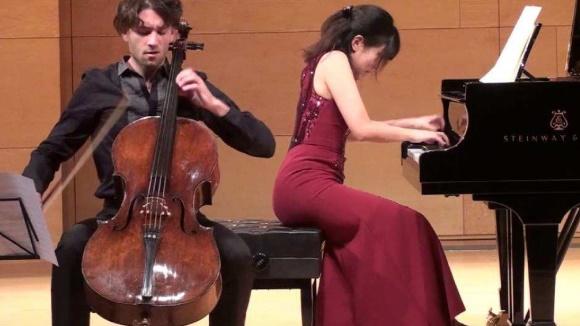 Concert pel Dia del Parkinson: Roger Morelló, violoncel & Fuko Ishii, piano