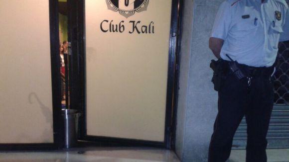 S'eleven a tres les detencions després de l'escorcoll al Club Kali