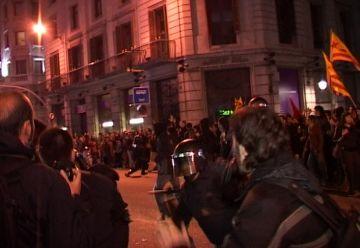 ICV-EUiA i ERC, crítiques amb l'actuació dels Mossos a la manifestació contra el pla Bolonya