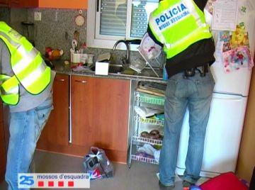 Operació policial dels Mossos