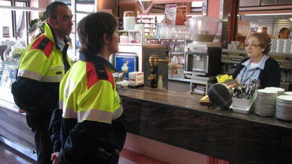 L''Operació Grèvol' intensifica enguany el contacte amb els comerciants