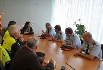 Jordi Hosta, nou inspector en cap de la comissaria local dels Mossos d'Esquadra