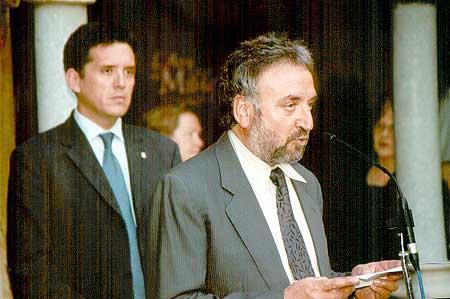 Presentació de l'edició 2003 per Josep Canals i Lluís Recoder.