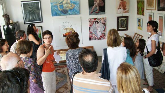 La mostra 'Col·lectiva de Nu' ofereix una visita guiada abans de tancar aquest diumenge