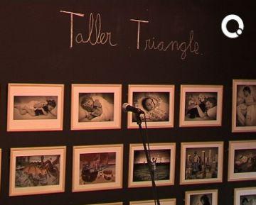 La 25 mostra del Taller Triangle il·lustra de nou les parets de la Casa de Cultura