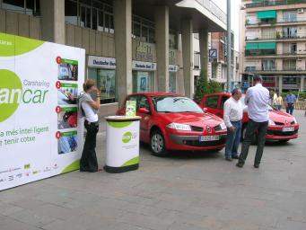 Dos anys del servei per compartir cotxe a la ciutat