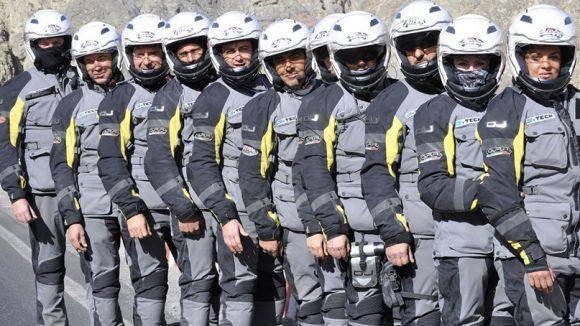 Membres de Moto For Peace / Foto:  Motoforpeace.it