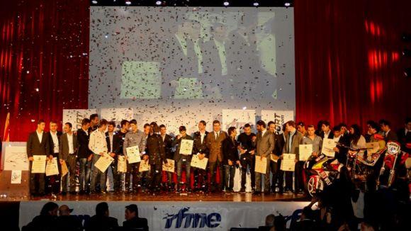 El Teatre-Auditori acull la Gala de Campions de la Federació Motociclista