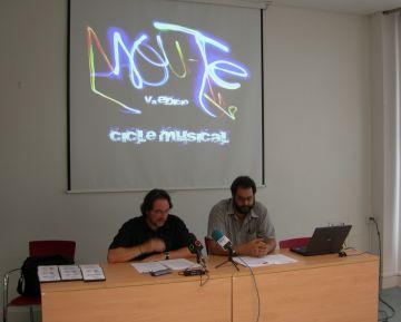 Moment de la presentació del Mou-te Tardor 2011