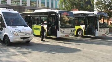 La flota d'autobusos municipals incorpora tres nous vehicles