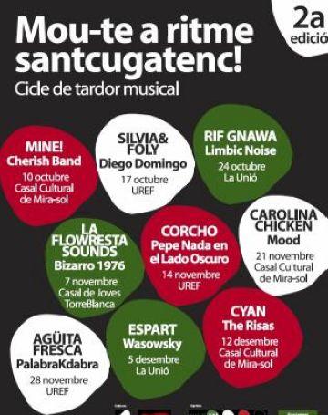 El cicle Mou-te a Ritme Santcugatenc es consolida en la seva segona edició