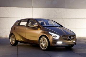 Prototip de cotxe elèctric de la marca / Font: Mercedes-Benz.com