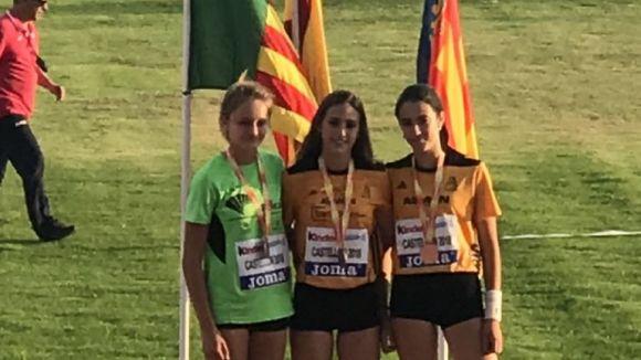 El Muntanyenc ha sumat cinc medalles a l'Estatal sub 16 / Font: Muntanyenc Sant Cugat