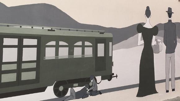 Centenari del tren: Inauguració del 'Mural del Ferrocarril' i 'Mural de vida'