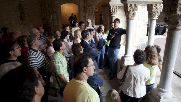 'Oració, treball i poder': Visita de portes obertes al Museu del Monestir